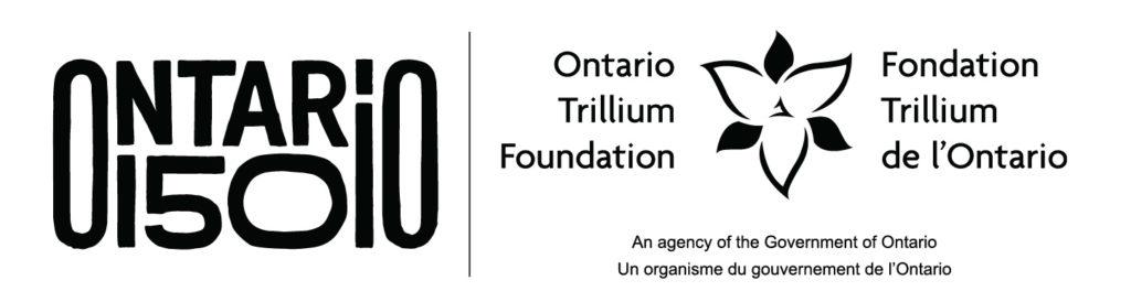 Ontarion 150 Ontarion Trillium Foundation logo