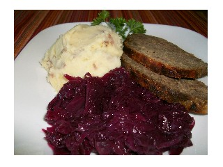 Christmas Meatloaf.Mother S Meatloaf And Red Cabbage Ottawa Little Theatre