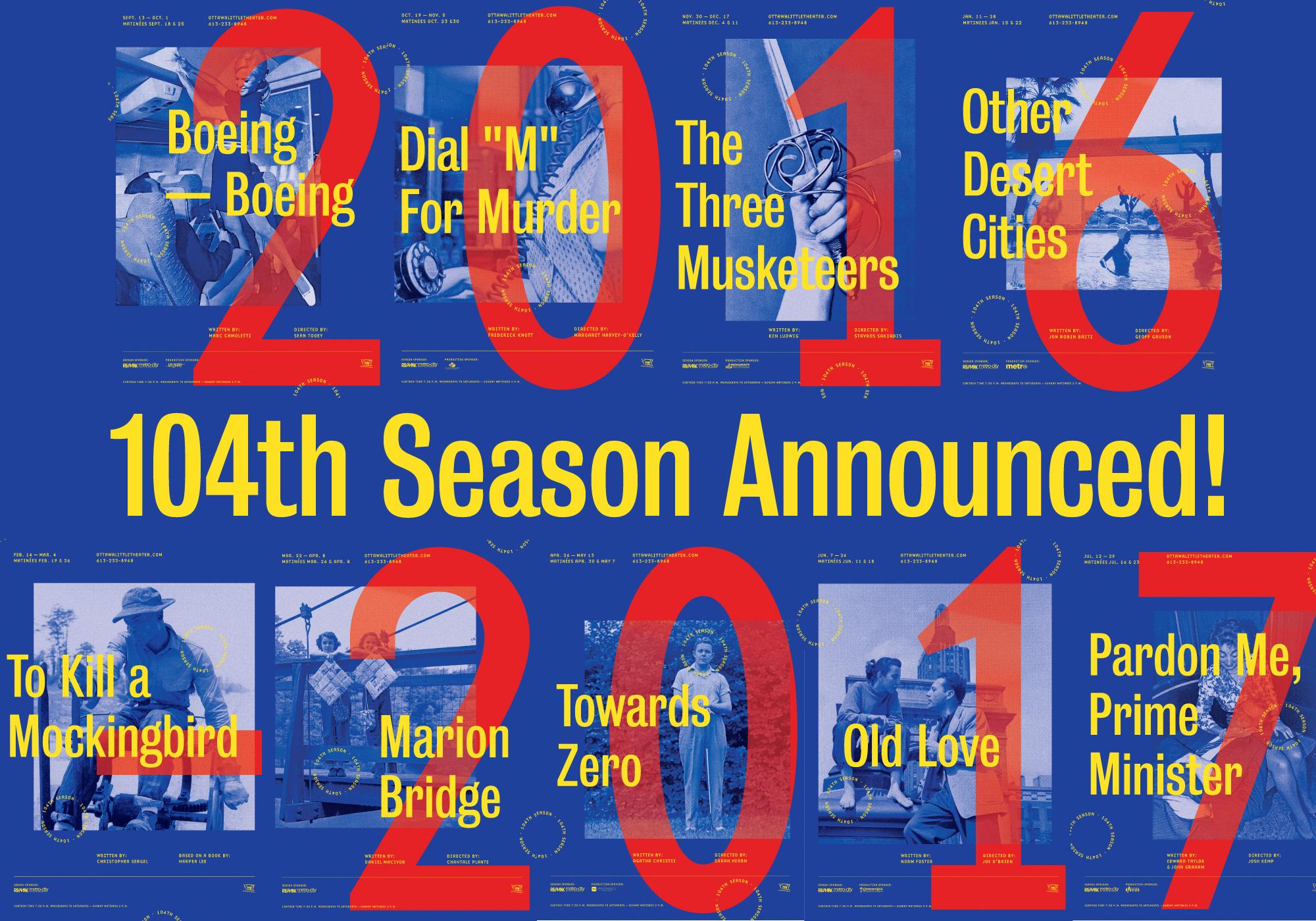104th Season Announced!